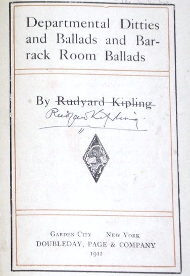 Rudyard-Kipling-Dittiesjpg