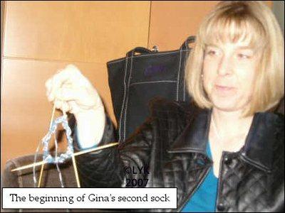 OOKG Gina's sock PSP